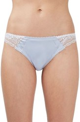 Topshop Women's Rita Satin And Lace Panty