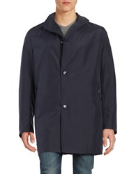 Bugatti Packable Travel Coat Blue