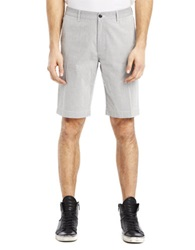 Kenneth Cole Ticking Stripe Shorts Black