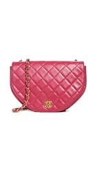 Wgaca What Goes Around Comes Around Chanel Pink Lamb Shoulder Bag