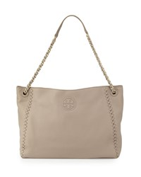Marion Chain Strap Slouchy Tote Bag French Gray Women's French Grey Tory Burch