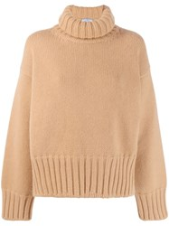 Prada Cashmere Sweater Brown