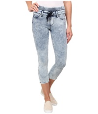 Liverpool Cassey Drawstring Capris On The Rocks Women's Capri Gray