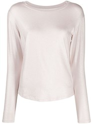 Majestic Filatures Long Sleeve Fitted Top 60