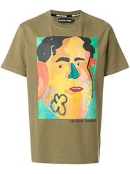 House Of Holland Banban T Shirt Cotton Green