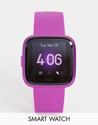 Fitbit Versa Lite Smart Watch In Pink