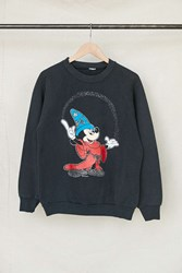 Urban Renewal Vintage Wizard Mickey Mouse Crew Neck Sweatshirt Assorted