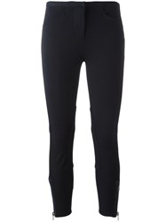 3.1 Phillip Lim Cropped Skinny Trousers Blue