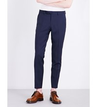 Tiger Of Sweden Gordon Straight Wool Trousers Light Ink