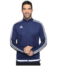 Adidas Tiro 15 Training Jacket Dark Blue White Dark Blue Men's Coat