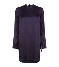 Sandro Amaya Dress Female Dark Blue