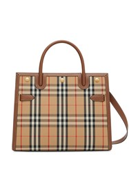Burberry Title Vintage Check Tote Bag 60