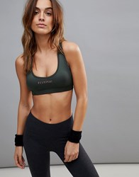 Elle Sport Sports Colour Pop Sports Bra Black