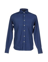 Replay Shirts Shirts Men Blue