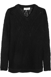 Pringle Open Knit Cashmere Blend Sweater