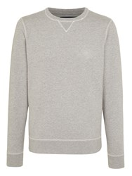 Scotch And Soda Crew Neck Jersey Top Grey