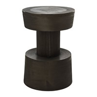 Pols Potten Nut Stool Graphite