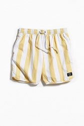 Katin X Uo Stripe Dolphin Short Yellow