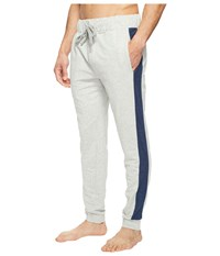 Kenneth Cole Reaction French Terry Pants Light Heather Grey Men's Pajama Silver