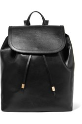 Iris And Ink Leather Backpack Black