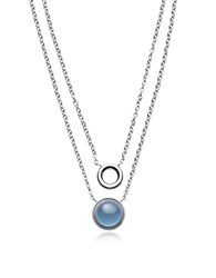 Skagen Necklaces Sea Glass Layered Pendant Necklace