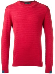 Etro Crew Neck Jumper Red