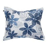 Gant Maui Flower Pillowcase Yale Blue 50X75cm