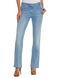 Betty Barclay Boot Cut Sara Jeans Light Blue Denim