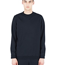 Aiezen Wool Blend Sweatshirt Black