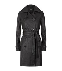 Set Leather Trench Coat Female
