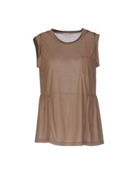 Gold Case T Shirts Camel