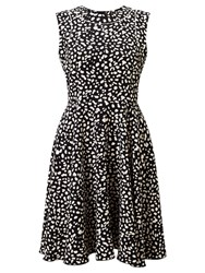 Marella Gondola Printed Dress Black