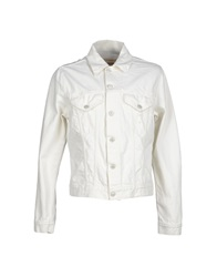 Blauer Denim Outerwear White