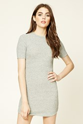 Forever 21 Marled Knit T Shirt Dress
