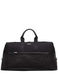 Chopard Weekender Leather And Fabric Duffle Bag
