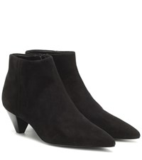Mercedes Castillo Julienne Suede Ankle Boots Black