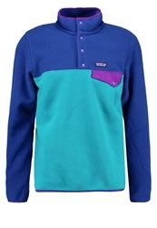 Patagonia Synch Snap Fleece Jumper True Teal Turquoise