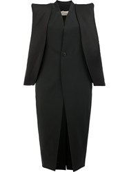 Rick Owens Oversized Armhole Coat Black