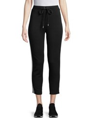 Bailey 44 Stripe Cropped Pant Midnight