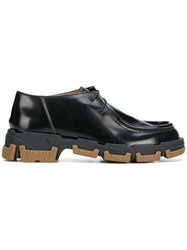 Lanvin Explorer Derby Shoes Black