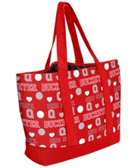 Forever Collectibles Ohio State Buckeyes Tote Bag Red