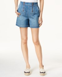 Tommy Hilfiger Tommyxgigi Star Trim Denim Shorts Elmira
