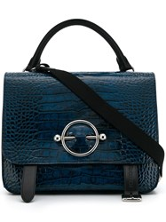 J.W.Anderson Jw Anderson Side Lace Fastened Tote Bag Blue