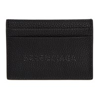 Balenciaga Black Grained Everyday Card Holder