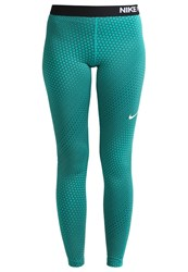 Nike Performance Circledrome Tights Rio Teal Midnight Turquoise Black White Green