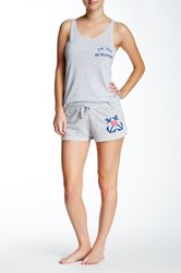 Junk Food Anchored Short Gray