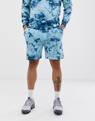 Another Influence Tie Dye Sweat Shorts Co Blue