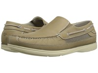 Dockers Chalmers Light Taupe Soft Waxy Tumbled Men's Slip On Shoes Brown