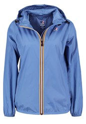 K Way Kway Claudette Waterproof Jacket Blue Persian