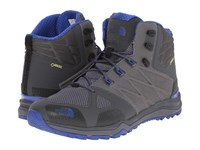 The North Face Ultra Fastpack Ii Mid Gtx Zinc Grey Limoges Blue Men's Hiking Boots Gray